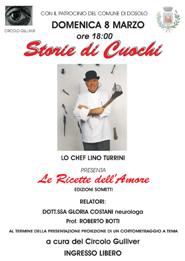 Lino Turrini, LE RICETTE DELL'AMORE