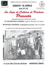 Lega di Cultura di Piadena - 18 aprile 2009