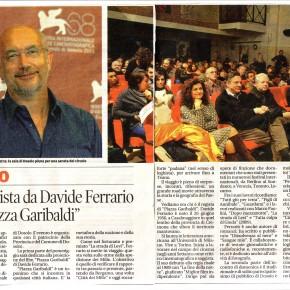 """Da: """"La Gazzetta di Mantova""""Cinema e paesaggio: """"Piazza Garibaldi"""""""