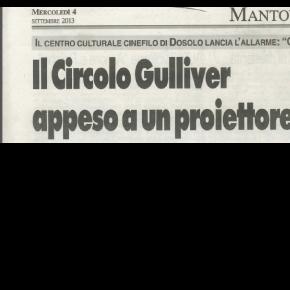 """""""IL Circolo Gulliver appeso a un Proiettore"""""""
