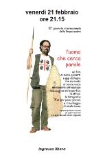 L'UOMO CHE CERCA PAROLE